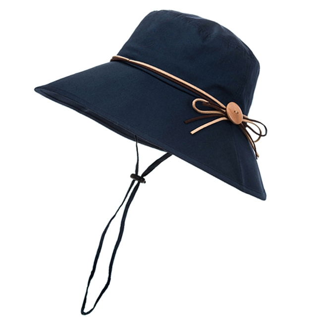 Corea de Las Mujeres Sombreros de Sun Mori Niña Sombrero Del Cubo de Ala Ancha Alpine Cap Verano Senderismo Pesca Protección UV Plegable Mosquitera sombreros