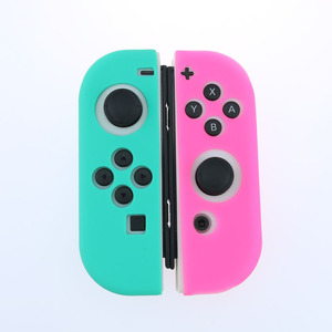 Image 4 - Light Purple Silicone Case For NS Switch Cover Joycon Case Soft Controller Shell Console Protective Controller Joy con Cover