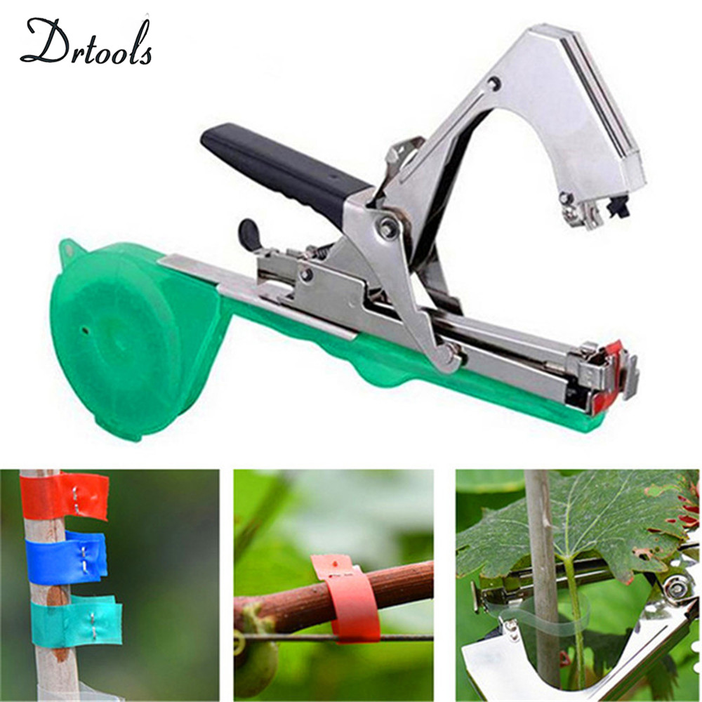 Image 5 - Garden Tools Plant Tying Machine Branch Hand Tying Machine Tapetool Tapener Packing Vegetable Stem Strapping T1  T8-in Pruning Tools from Tools