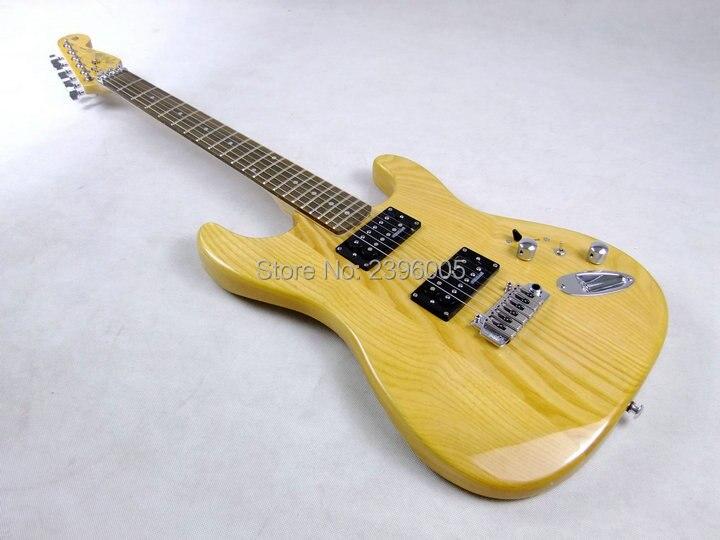Custom Shop st guitar exclusive 21 frets rosewood Fingerboard Ash body humbucker switch to single pickups bridge on show