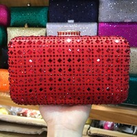 XIYUAN BRAND New Arrival Women Day Clutches Purses Ladies Fashion Beaded Bag Evening Bag Female Wedding party cocktail red Bags