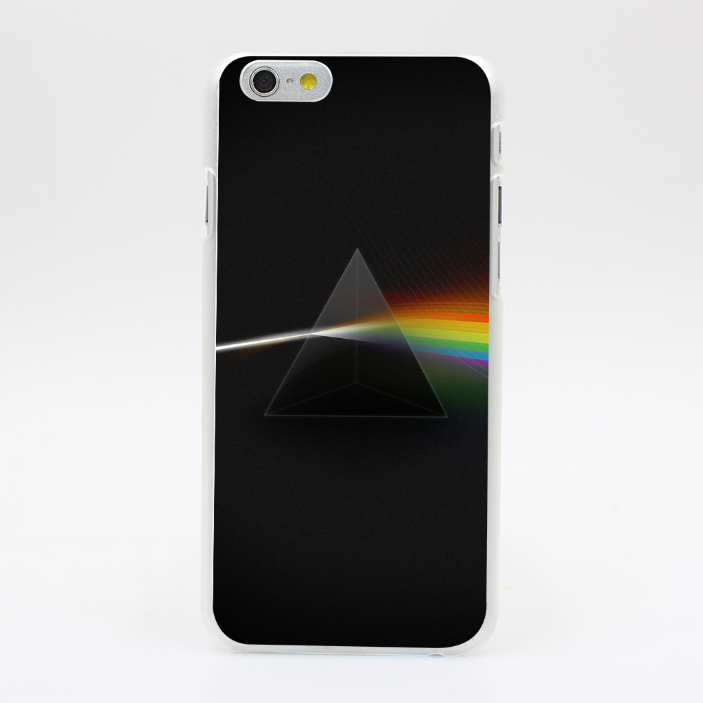 1811Y Pink Floyd Dark Side Of The Moon Album Cover Hard Case Transparent Cover for iPhone 4 4s 5 5s 5c SE 6 6s 7 & Plus