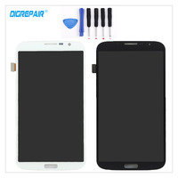 100 New Black White For Samsung Galaxy Mega 6 3 I9200 I9205 LCD Display Touch Screen