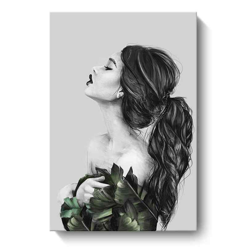 Modern Style Handdraw Characters Painting Poster Print Decor Wall Art Pictures For Living Room Bedroom