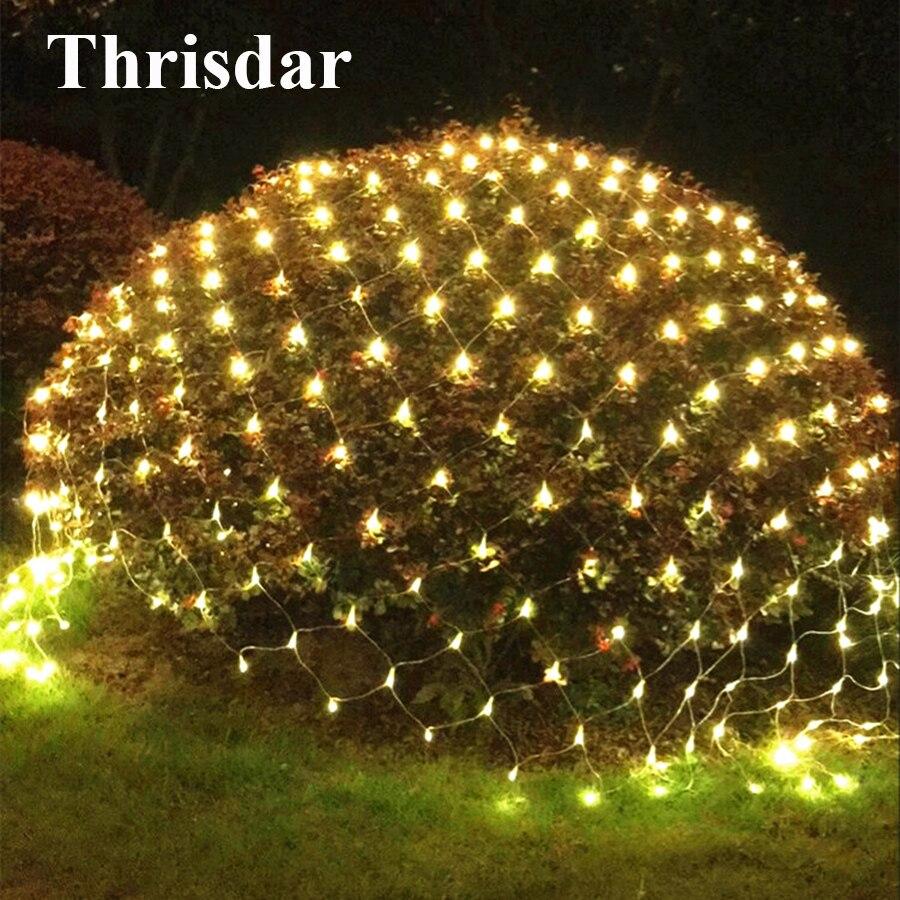 328ft 100m 600 Led Christmas Lights String Fairy Indoor Ledchristmaslightingusingtransistors Thrisdar 2x2m 3x2m 6x4m Net Mesh 8 Modes Outdoor Party