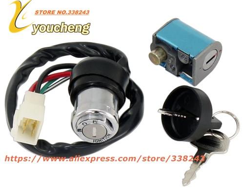 CFMoto 500cc Ignition Key Lock Assy CF188 ATV UTV Repair Parts Replacement Modify CF500 Go Kart 9010-010000 SJZC-CF500 brake caliper brake shoe parking clamp of cfmoto cf500 parts number is 9010 080320
