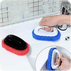 Кухонная ручка обеззараживающая губка жесткая Нижняя щетка для чистки кухня пол щетка для ванны пол протирать