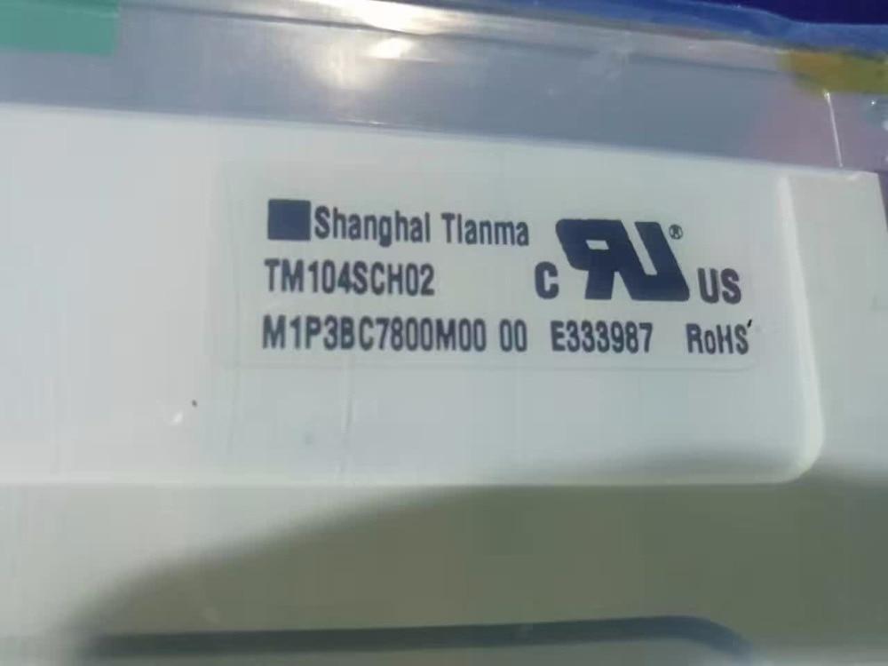New original 10.4 -inch industrial liquid crystal display panels tm104sch02 free shipping дезодорант спрей для тела tm crystal