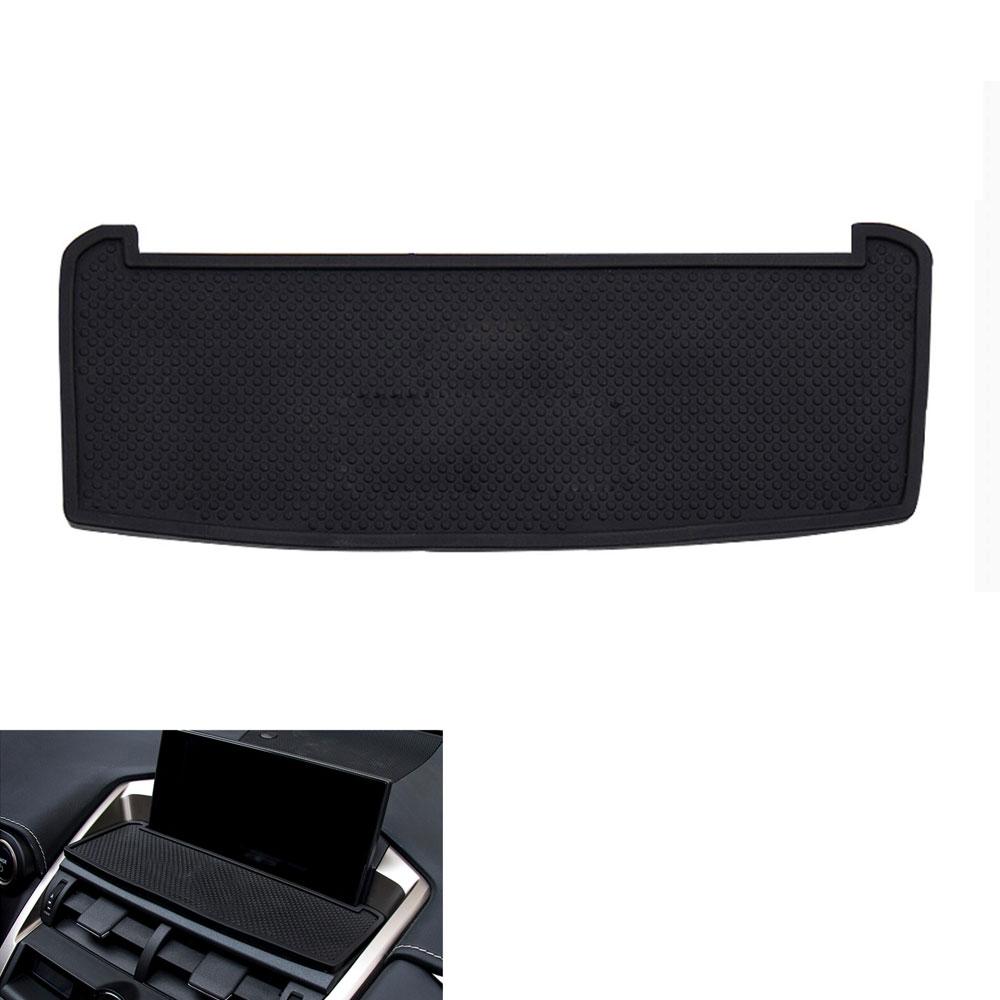 Automašīnas telefona pavērsiens Mat Dashboard Pretslīdēšanas paklājs Skidproof Pad tālruņa turētājs F LEXUS NX200T NX300H 2015 auto aksesuāri