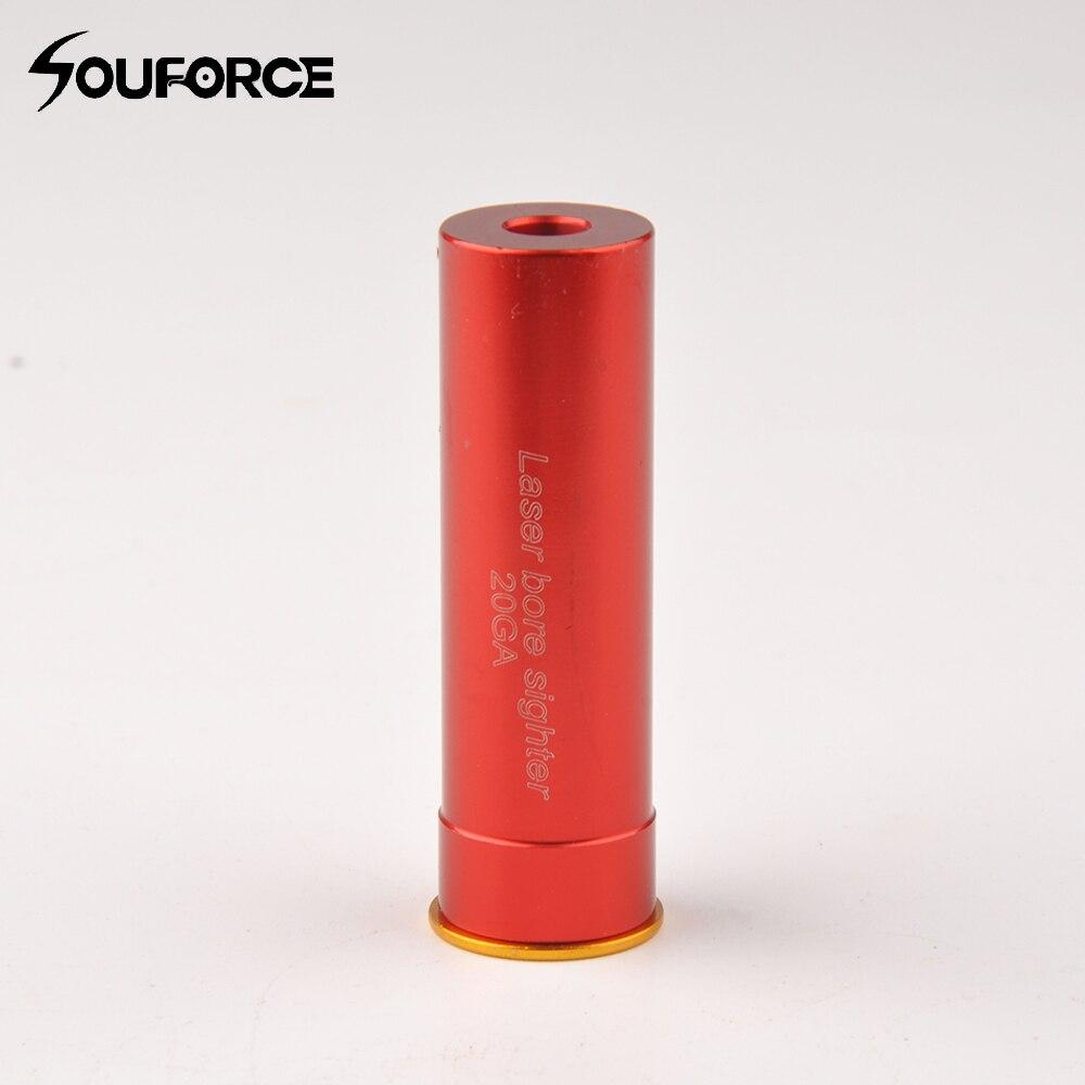 Laser Bore Sighter 20 GA Cartridge Boresighter Red Sighting Sight Boresight Red Copper 20GA Shotgun