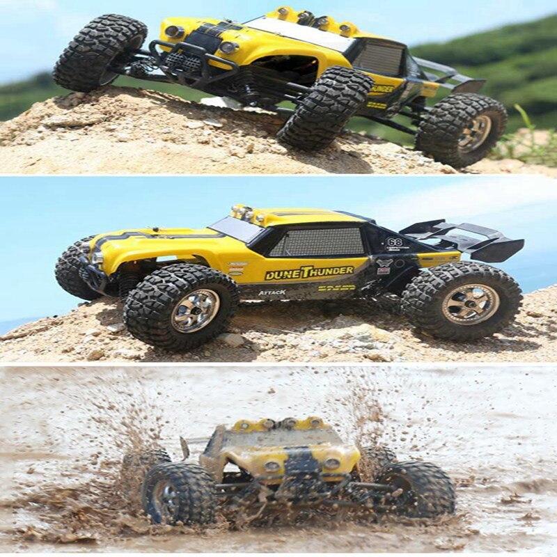 New HBX 12891 1 12 4WD 2 4G Waterproof Hydraulic Damper font b RC b font