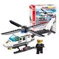 J306 New chegada 102 pcs avião avião modelo blocos de construção de avião avião DIY brinquedos educativos crianças presentes atacado