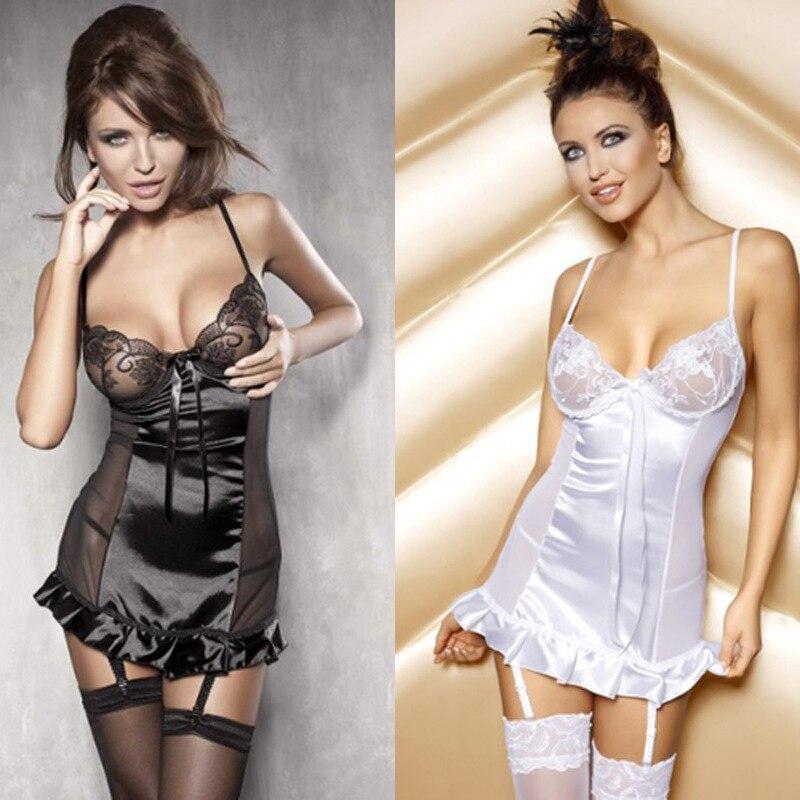 Nupcial liguero sexy chemise de la ropa interior para las mujeres tama o de la ropa interior de - Ropa interior xxl ...