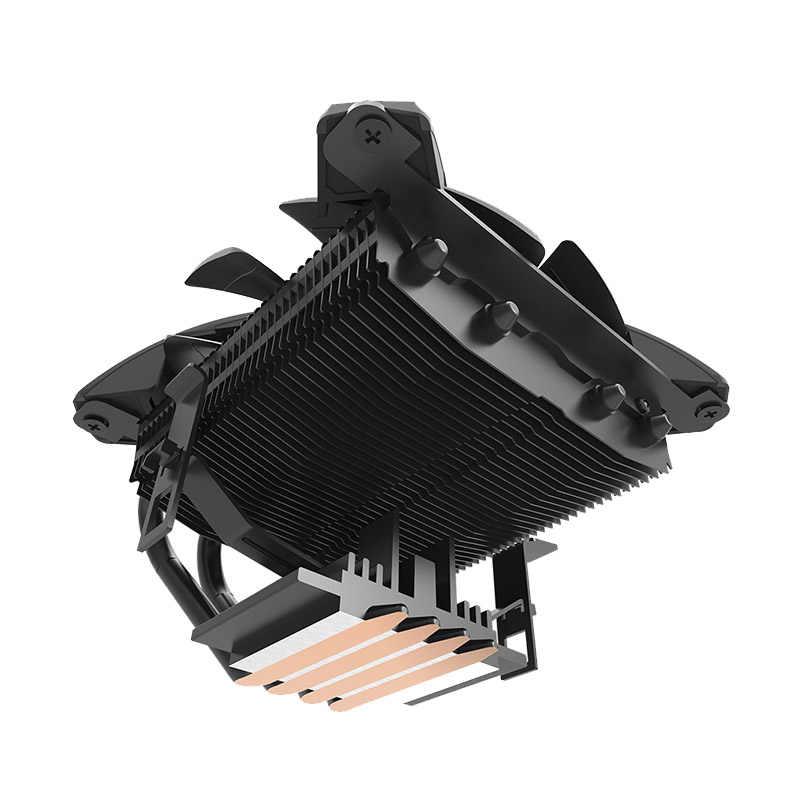 Darkflash Aigo CPU Cooler Radiator DP Mulai dari 280W Wastafel Panas Diam 120 Mm 4Pin PC Terbaru CPU Cooling untuk LGA115X/AMD Kipas Casing Komputer