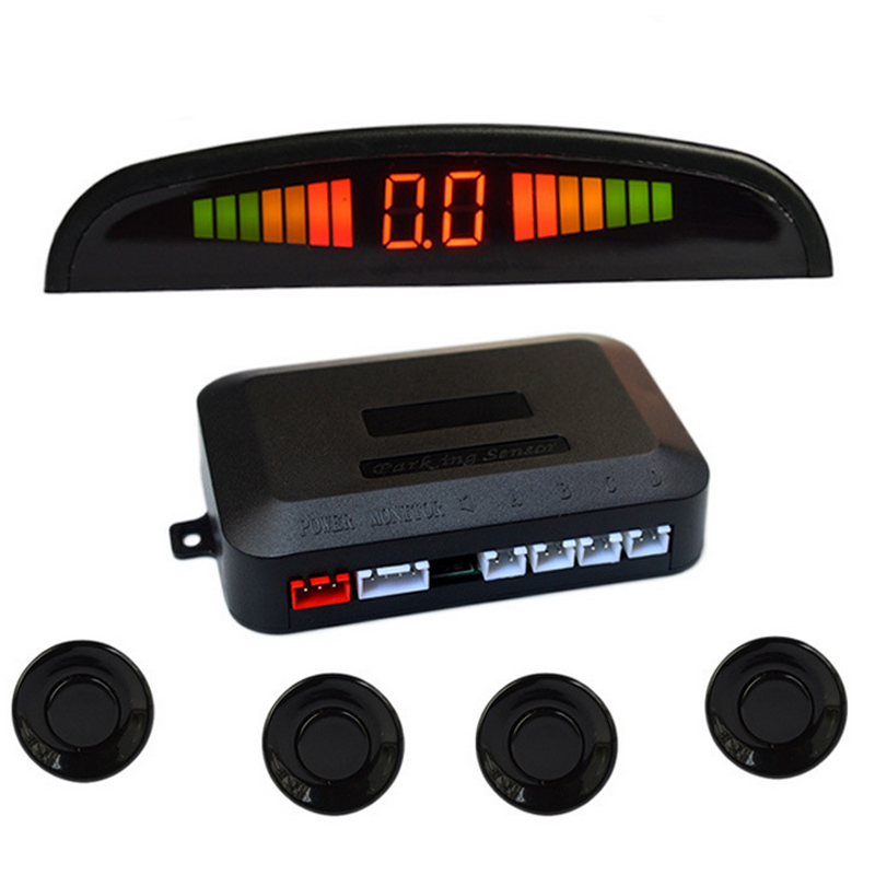 Radar Detector App >> Universal Car Reverse Assistance Backup Radar LED Display Automobile Parking Monitor Detector ...