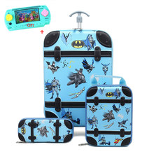Cartoon Kid's Travel Trolley Bag Sac Enfant Suitcase for Kids Children Rolling Case Travel Traveling Luggage Bags with Wheels(China)