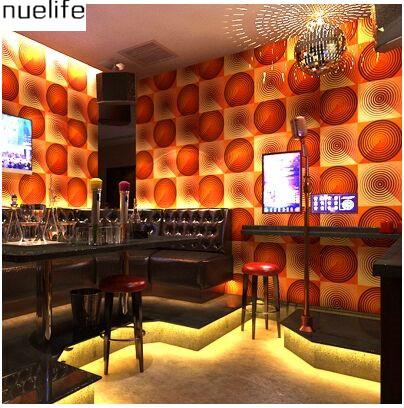 Подробнее о KTV Wallpapers 3d  Fashion Bar Fancy Ballroom Box Theme Room Entertainment Flash Background Wallpaper ktv