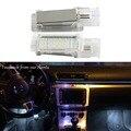 2x LED Luz de Cortesia Porta luz Interior Lâmpada Luz Dos Pés para Caddy CC EOS Jetta Polo Passat Tiguan Touareg Assento Skoda levou