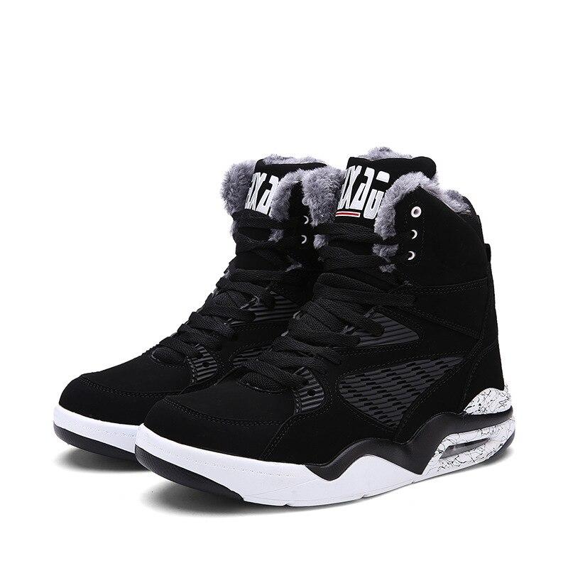 Neige 2018 2 Pour Nouveau Sneakers 47 Chaud Hommes Peluche Mode 39 Taille De Fourrure Up En Top Dentelle D'hiver 1 Chaussures High Grande Bottes Et rCYrxSq