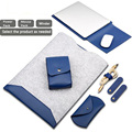 waterproof 11.6 12 13 13.3 15 15.4 inch Notebook sleeve Felt leather Laptop bag pouch cover for macbook air pro 13 15 case SY010