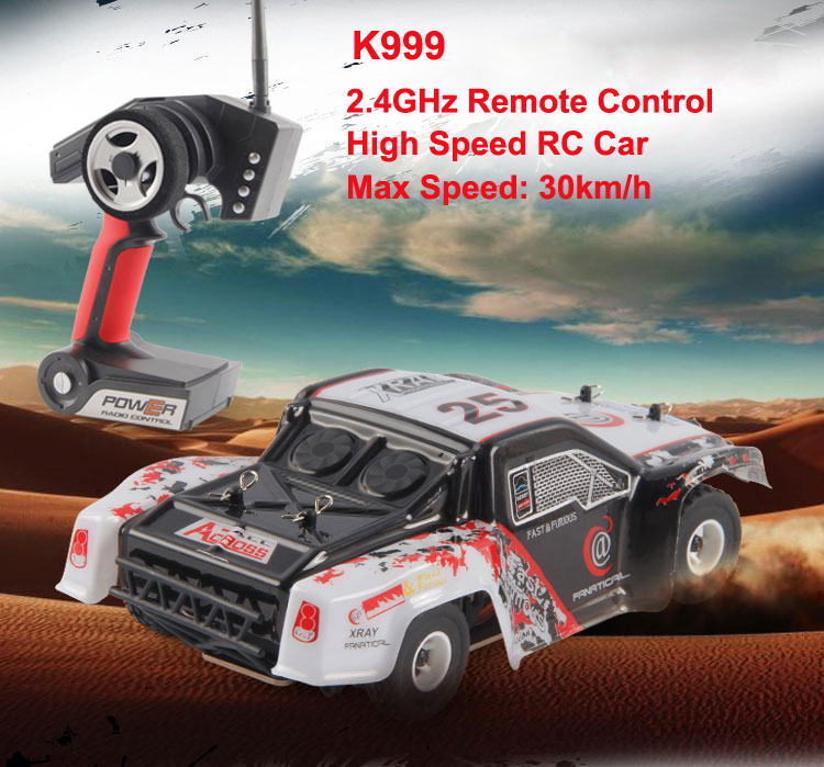 High-speed 4CH 4WD 2.4GHz Brushed RC Car K999 Drift Remote Control Toys rc racing car remote control car toy child gift VS A979