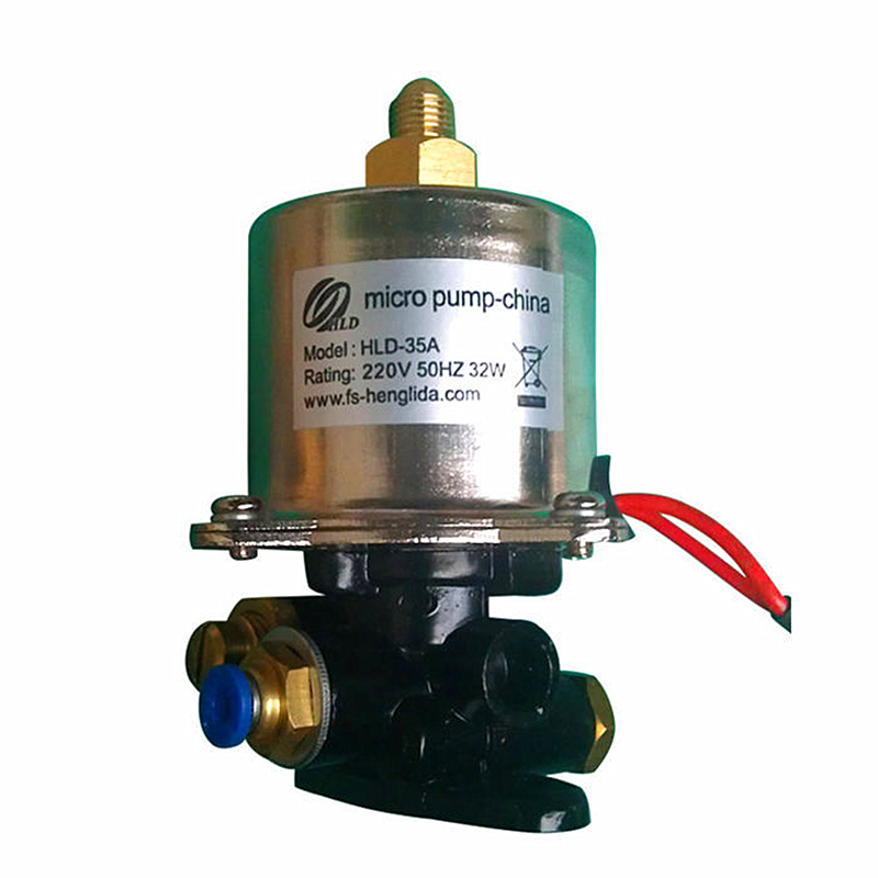 Junior high temperature magnetic pump booster burner Model: HLD 35A Power: 220V 50Hz 32W