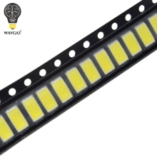100 шт 5630/5730-CW/WW 0.5W-150Ma 50-55lm 6500K белый свет SMD 5730 5630 LED 5730 Диоды(3,2~ 3,4 в