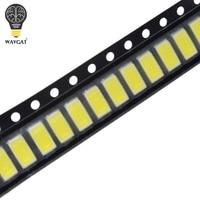smd 5630 led 100pcs 5630/5730-CW/WW 0.5W-150Ma 50-55lm 6500K White Light SMD 5730 5630 LED 5730 diodes (3.2~3.4V) (1)