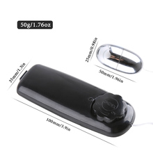 Love Ball Vibrator For Adults Stainless Steel Wired Remote Control Jump Egg Vaginal Tighten Exercise Sex Toys For Men Women