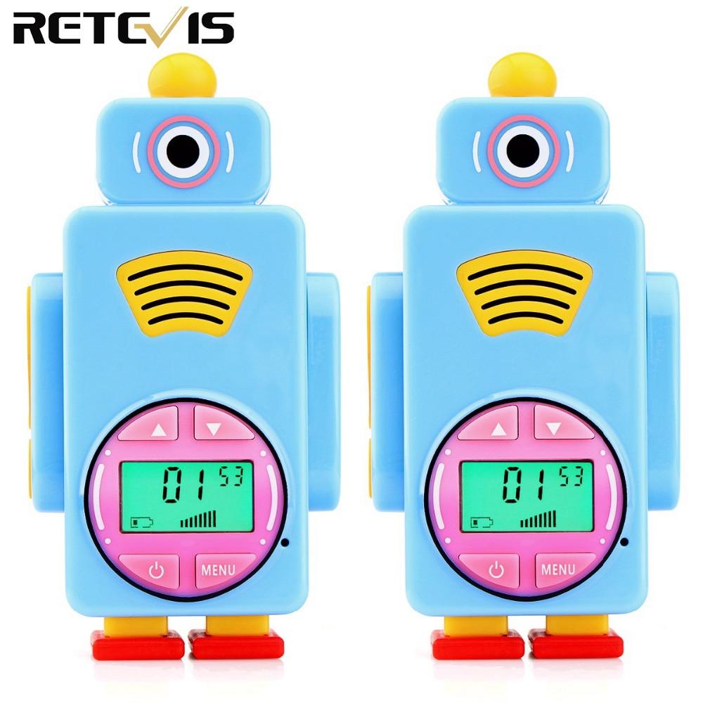 Retevis RT36 Mini Walkie Talkie 2pcs Kids Radio License-free 0.5W Rechargeable Two Way Radio Walkie-talkie Children Gift A9125