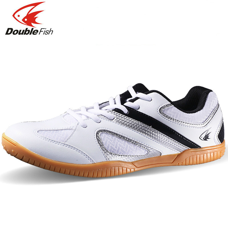 New Arrival DOUBLE FISH DF 838 table tennis Shoes For Men Women Breathable Anti slippery ping