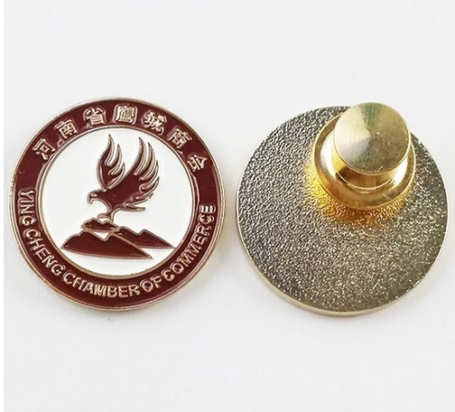 lapel pin manufacturers china for badge pin metal flag pin custom lapel pins