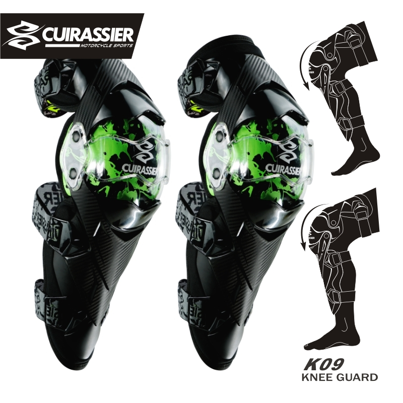 CUIRASSIER Knee Pads Motorcycle Riding Kneepad Motocross Off-Road Elbowpad Protective Gear Set Brace Pads Elbow Protector Guards