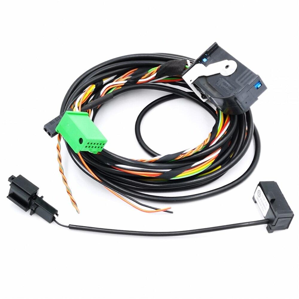 Bluetooth Module Direct Plug Harness 9w2 1k8 035 730 D Fit: YIXINYOU Bluetooth Module Wireless Microphone Wire Harness