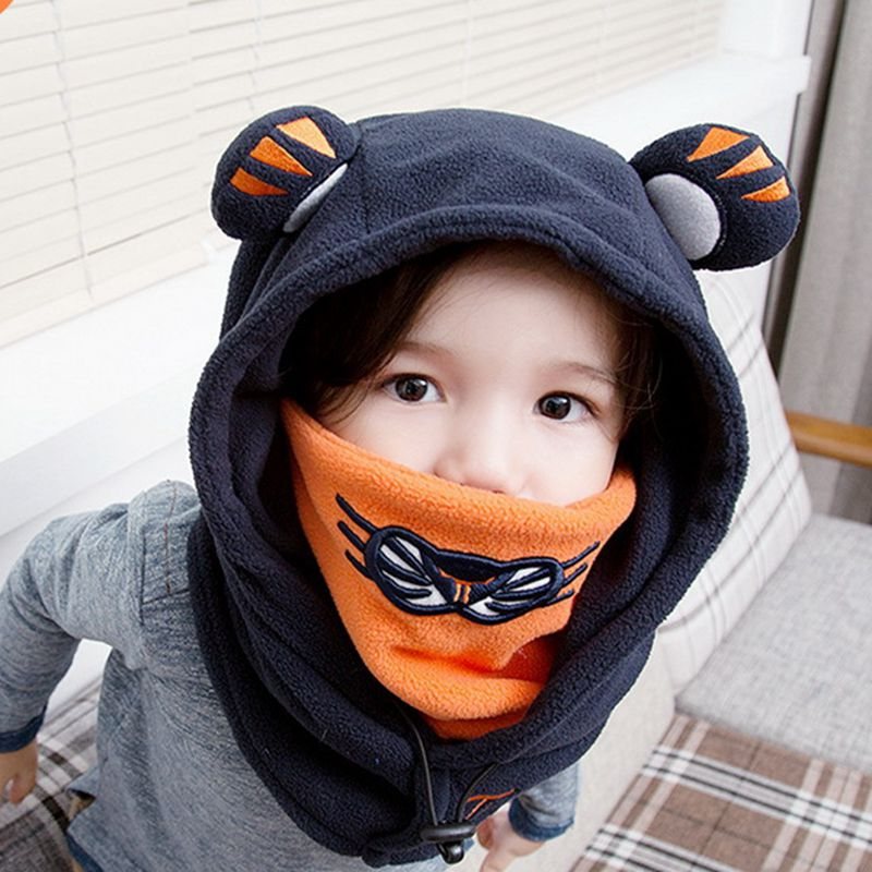 Excellent BHESD Children Winter Face Ski Mask Hat Toddler Balaclava Hats  UA23