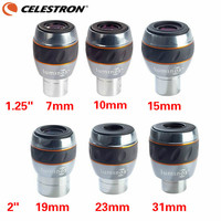 Celestron Luminos 1.25 7mm 10mm 15mm 2 19mm 23mm 31mm Eyepiece 82 Degree Wide Angle Fmc Astronomical Telescope Accessories