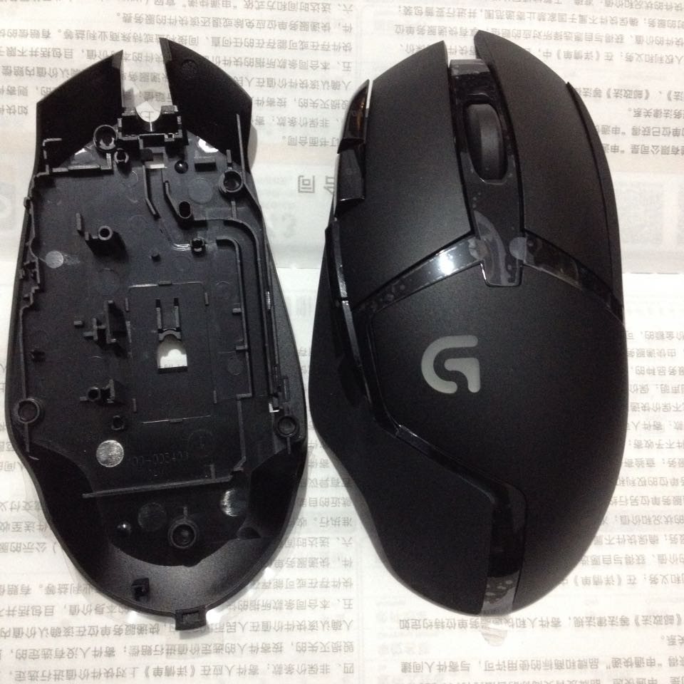 1 Set Original New Mouse Top Shell+bottom Shell+roller For Logitech G402 Genuine Mouse Accessory Mouse Cover Housing
