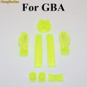 Image 4 - 16 couleurs multi couleur remplacement D pads boutons claviers ON OFF Power L R A B boutons pour Gameboy Advance cadre boutons pour GBA