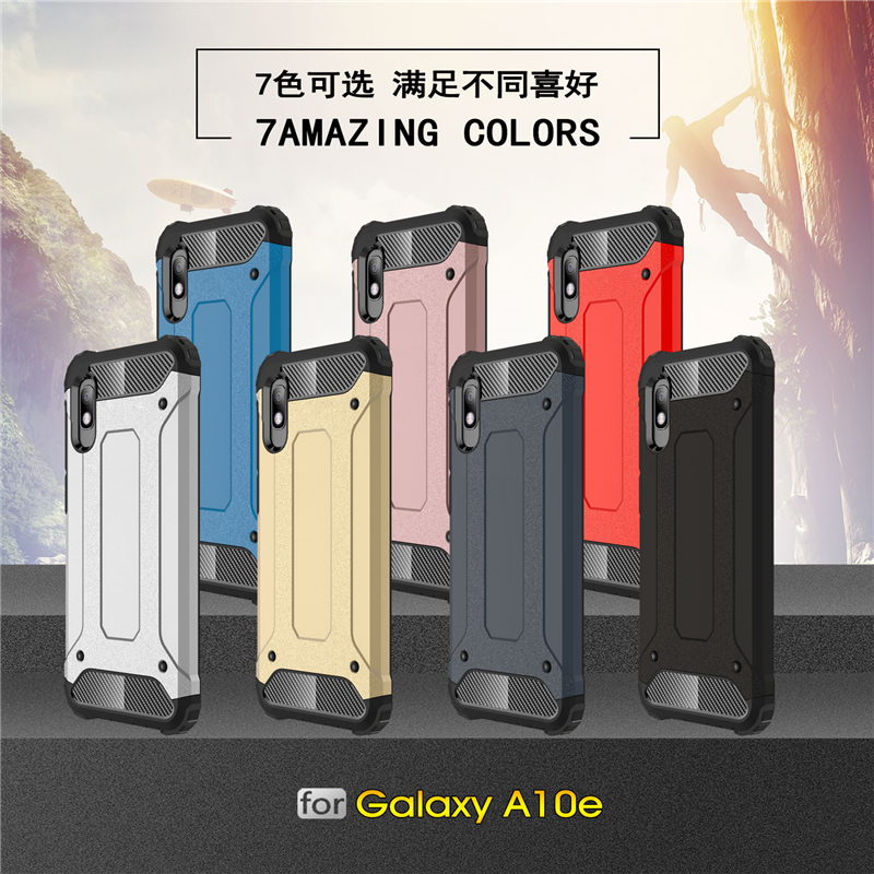 For Samsung Galaxy A10e Case Silicone TPU Armor Hard PC Back Phone Cover For Samsung Galaxy A10e Case For Samsung Galaxy A10e in Fitted Cases from Cellphones Telecommunications
