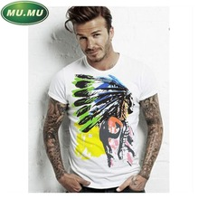 2016 NEW 100% Cotton T shirts Men Shorts Sleeve Brand Design Summer male Tops Tees Fashion Casual Tshirts For Man