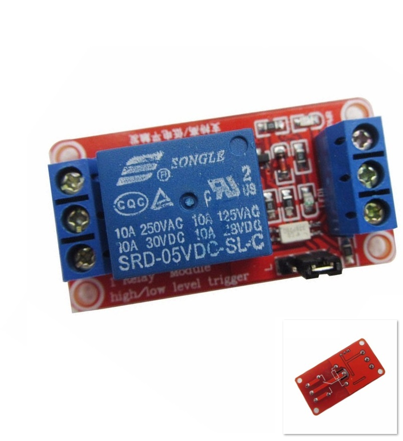 One 1 Channel 5V Relay Module Board Shield with Optocoupler Support High and Low Level Trigger for Arduino 5v 2 channel ir relay shield expansion board module for arduino with infrared remote controller