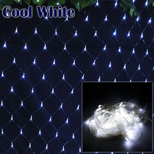 LED Light Net Mesh String Fairy Curtain Christmas Home Decorations EU Plug 4MX6M window curtain led string white lights 3m x3m for xmas wedding party decor 220v eu plug party decorations 304 led