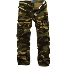 Men's Casual Cotton Military Army Pants Asian/Tag Size 28-38 (No Belt)