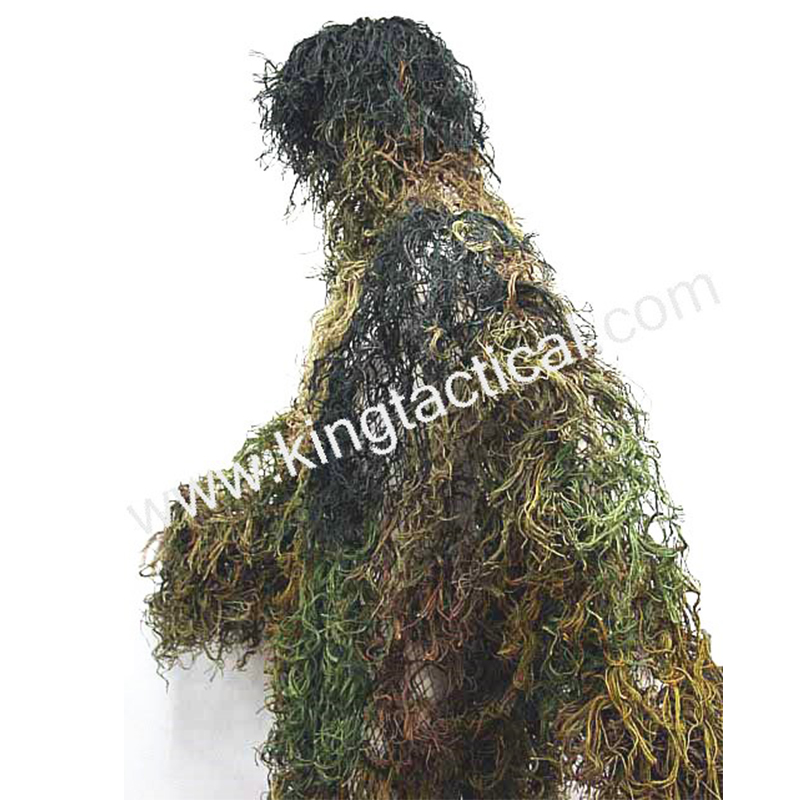 Tactical Jungle Kit Cloak Paintball Recon Yowie sniper Clothing Military Bionic Ghillie Suit Camouflage Hunting Shade clothes