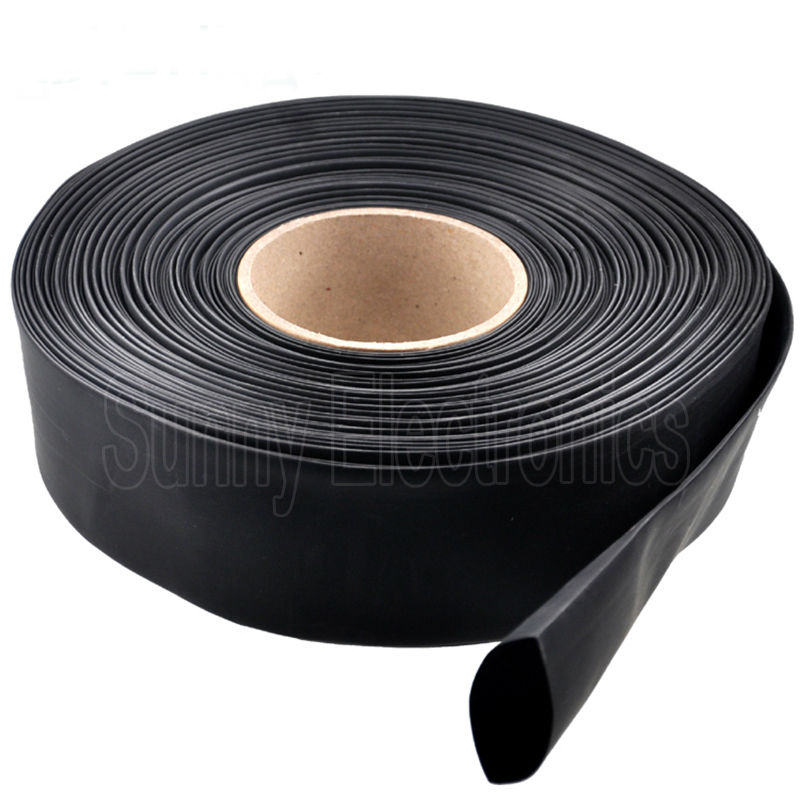 Black Heat Shrink Tube Sleeving  Electrical Cable Car in Various Length /& Sizes