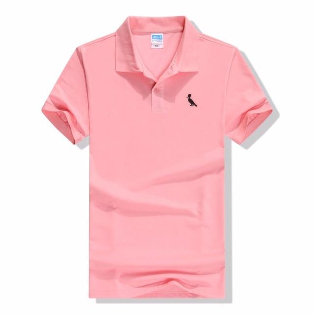 Camisa Polo Masculina de Marca Men Short Sleeve Mens Breathable Cotton  Reserva Polo Shirts Embroidery Polo 1f1b32935fd22