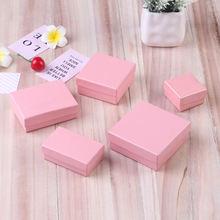 Ziris подарочная коробка 12 шт/лот оптовая продажа Розовая крафт