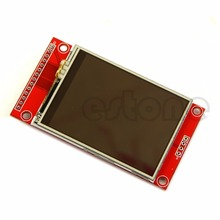 "2.4 240x320 SPI TFT LCD Touch Panel Serial Port Module with PBC ILI9341 5V/3.3V"""