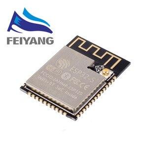 Image 2 - 10PCS ESP32 ESP 32 무선 모듈 ESP32 S ESP WROOM 32 ESP 32S 32 Mbits PSRAM IPEX PCB 안테나 4MB 플래시