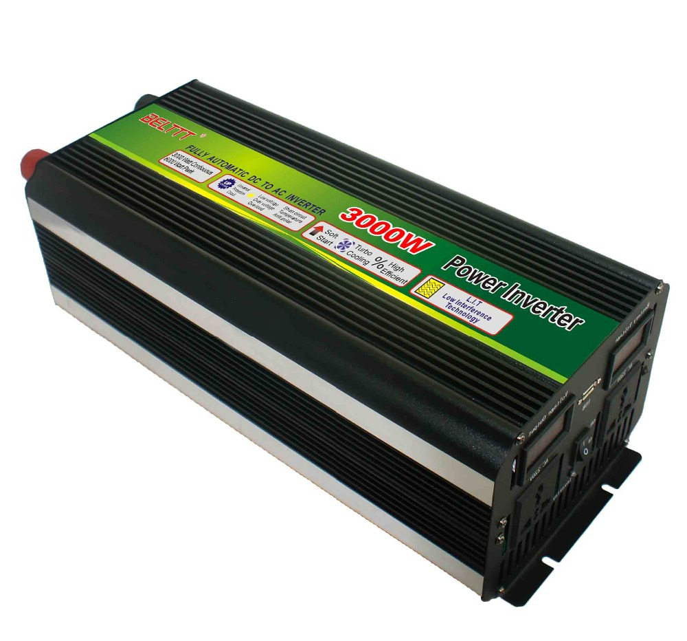 Inverter Circuit Diagram 3000w Dc 12v To Ac 220v Ups Solar Power For Home Use And System With Led